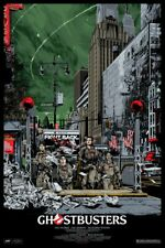 Ghostbusters Variant Ken Taylor Mondo Screen Print Hand Numbered Limited Ed /300