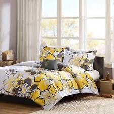Mi Zone - Allison Comforter Set - Yellow - Full/Queen - Floral Pattern -.