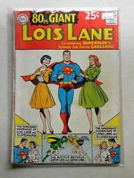 80 Page Giant Magazine #3 Lois Lane $40.00 (1964, DC) 4.0 VG WHITE Superman Weds