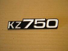 KAWASAKI KZ750 FOUR, KZ750 TWIN,  SIDE COVER BADGE NEW REPRODUCTION