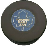 TORONTO MAPLE LEAFS APPROVED NHL OFFICIAL GAME PUCK VINTAGE VICEROY MFG. 🇨🇦