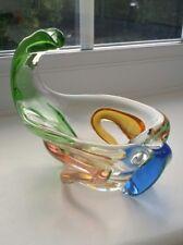 """Unusual Vintage Bohemian Mstisov """"Rhapsody"""" sculptural bowl"""
