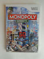 Monopoly Streets Game Complete!  Nintendo Wii