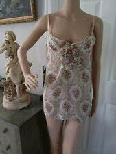 236ba0f1fd VINTAGE DOLCE   GABBANA ITALY. CAMISOLE BLOUSE TOP....WITH BRA
