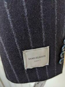 MEN'S SAMUELSOHN BECKETT SPORTCOAT JACKET 44 REGULAR  Soft Collection