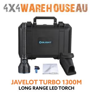 Olight Javelot Turbo Black 1300m LED Long Range Torch JAVELOT-TURBO