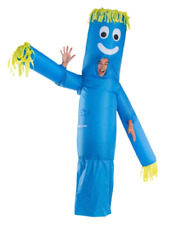 "Hyde and EEK 88"" Inflatable Tube Adult Halloween Costume Morphsuits Blue"
