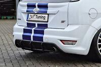 Heckansatz Diffusor Heckdiffusor aus ABS Ford Focus ST DA3 FL Eintragungsfrei