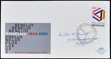 Netherlands 1969 Benelux Customs Union FDC First Day Cover #C49124