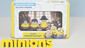 Minions Micro Minions Playset Movie Scene Eye, Matie Minions New