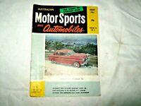 An Old 1961 Vol 16 No 8 Australian Motor Sports & Automobile Magazine