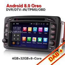 Android 8.0 Autoradio DAB NAVI Mercedes G/C-Klasse W203 CLK W209 Viano Vito W639