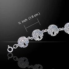 Sand Dollar .925 Sterling Silver Bracelet by Peter Stone