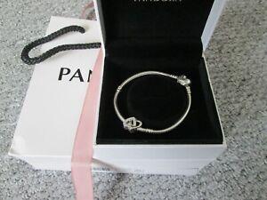 PANDORA 19cm Charm Bracelet - Sterling Silver