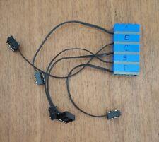 Lego Mindstorms Light Sensor Blue 2982 RCX NXT Robotics Lot of 5