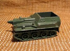 VINTAGE 1970's USSR DIECAST METAL TOY model 1/90 Self-Propelled Cannon