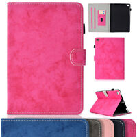 Magnetic Leather Smart Protector Flip Folio Case Cover For iPad 234 Mini 123 4
