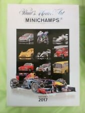 3-23 páginas en color Minichamps PMA Modelo 2001 Nuevos Modelos Gama catálogo A4 Ed