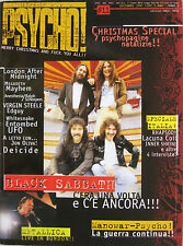 PSYCHO 11 1997 Black Sabbath Manowar Mayhem Virgin Steele UFO Edguy John Oliva