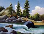 Thomas Hart Benton Mountain Stream Print 16 x 20