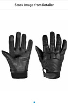 Triumph Women's Leather Kirkby Gloves - Black - Size:M (MGVS13073-M)
