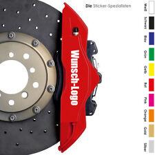 """6 x Bremssattel WUNSCHLOGO Aufkleber aus """"spezial Folie"""" - Alle Farben Brembo GT"""