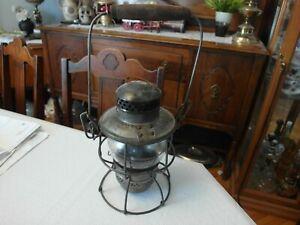 Lantern CNR Railroad Canadian National RR Antique Train Lamp, Hiram L.Piper Co.