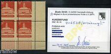 SBZ 4 x 12 Pfg. Wiederaufbau 1946** Verzähnung Befund (S6205)