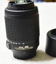Nikon AF-S DX NIKKOR 55-200mm f/4-5.6G ED VR Telephoto Zoom Lens