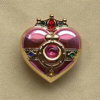Anime Sailor Moon Tsukino Usagi Jewelry Box Heart Moon Powder Foundation Case