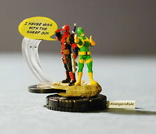 Marvel Heroclix Deadpool 049 Deadpool and Bob + W007 Sheep Gun Super Rare