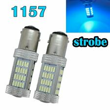Strobe Front Signal 1157 2057 2357 3496 7528 BAY15D P21/5W 92 LED Ice Blue M1 M