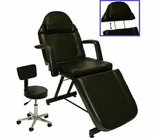 Fully Adjustable Massage Care Facial Bed Table Chair Barber Tattoo Beauty Salon