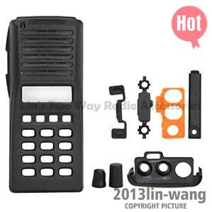 Black Full Keypad Replacement Housing Case For Kenwood TK280 TK480 2Way Radio
