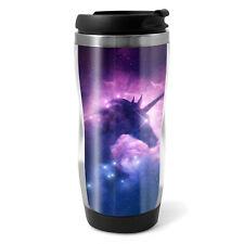 Unicorn Nebula Travel Mug Flask - 330ml Coffee Tea Kids Car Gift #14344