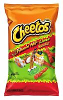 Cheetos Crunchy Flamin Hot Limon Chips, 9 oz (1 Bag)
