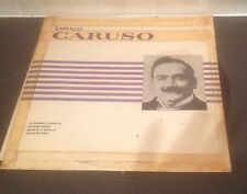 ENRICO CARUSO  LP   ENRICO CARUSO    FIDELIO-BUY ANY LP GET 1 FREE!