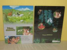 PRINCESS MONONOKE - Pencil Board - JAPAN - 2 Sided - 1997 - Anime - SAN Ashitaka