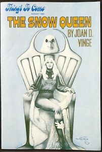 Things To Come Newsletter August 1980 The Snow Queen by Joan D Vinge