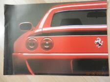catalogue FERRARI 355 348 Cabriolet 512M 456 GT
