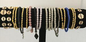 22 Anklets and/or bracelets - stretch - Lot MA15
