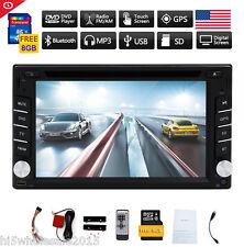 "6.2"" Gps Navigation Hd 2Din Car Stereo Dvd Cd Player Bluetooth Radio Mp3 In Dash"