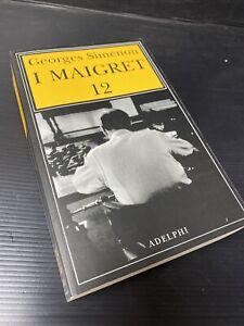d28 George Simenon adelphi Maigret 12  Vari Racconti