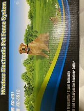 New listing Focuser Wireless Electronic Pet Fence System Kd661C with flags 1 Collar Reciever