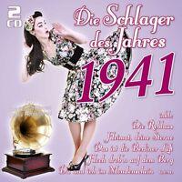 DIE SCHLAGER DES JAHRES 1941 2 CD NEU
