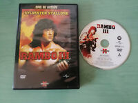 RAMBO III SYLVESTER STALLONE DVD + EXTRAS ESPAÑOL ENGLISH GERMAN ITALIANO