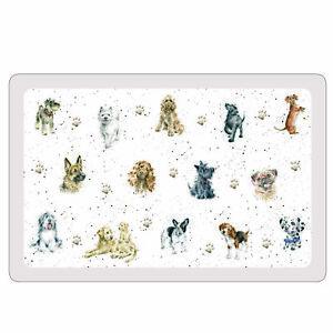 Wrendale Designs Dogs Flexible Placemat Pets Pet Bowl Mat Floor Protector