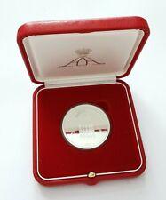 Médaille En Argent Albert II Monaco 2005.(AD1571)