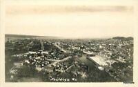 Aberdeen Washington Aerial view 1920s RPPC real photo postcard 8462