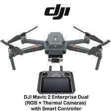 DJI Mavic 2 Enterprise Dual Drone RGB Thermal Cameras With Smart Controller